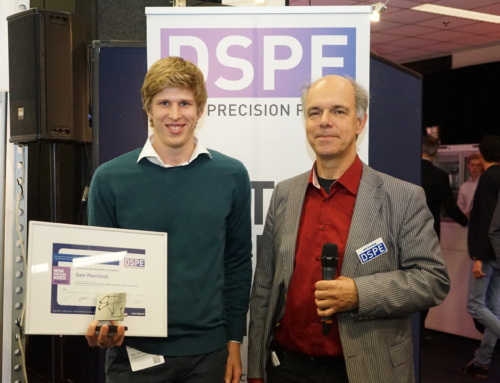 Wim van der Hoek Award 2017 presented to Sam Peerlinck (KU Leuven)